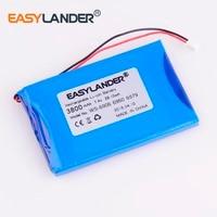 high capacity 7.4V 3800mAh  battery For satlink WS 6908 WS 6906 WS 6909 WS 6905 WS 6912 WS 6918 WS 6936 WS 6969 WS 6960 WS 6979 Replacement Batteries    -