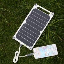 Solar de Carregamento Carregador para Celular Células do Sistema 5 V Painel USB Carregador de Telefone Inteligente para Iphone Samsung Solar