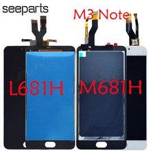 """Do ekranu LCD MEIZU L681H Meizu M3 uwaga wyświetlacz LCD z montaż digitizera ekranu dotykowego do 5.5 """"Meizu M681H wymiana LCD"""