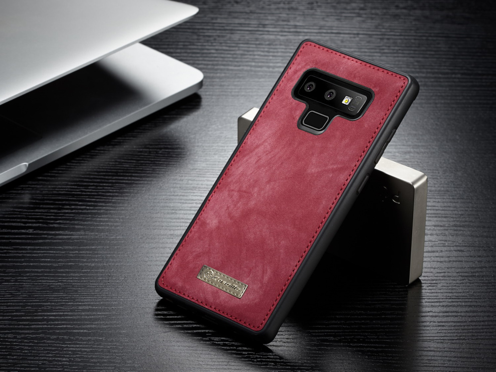 US $18 68 30% OFF|Vintage Genuine Leather Case for Samsung Note 9 Multi  Functional Wallet Cover For Samsung Galaxy Note 9 Case For Galaxy Note9-in