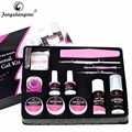 Fengshangmei UV Gel Set for Nail Extension Soak Off Builder Gel Polish Kits Manicure At Home