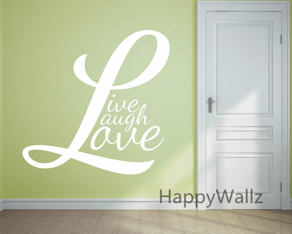 popular live laugh love life buy cheap live laugh love life lots motivational quote wall sticker live laugh love diy inspirational life quotes vinyl wall art decals hot