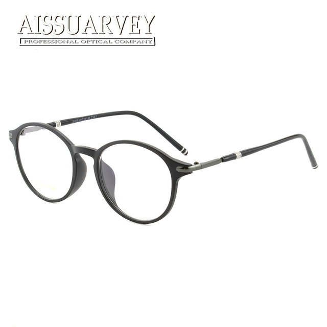 Ultem Eyeglasses Glasses Frames Round Memory Optical Prescription ...