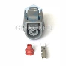 2 комплекта 1 Pin 90980-11428 6189-0445 женский автомобильный датчик температуры разъем автомобильное контактное гнездо для Toyota 2JZ