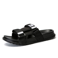 Men's Slides Soft Light Men Slippers Home Outdoor Beach Summer EVA Rubble Slide Slipper 2019 Fashion Indoor Shoes Big Size 47 48 1