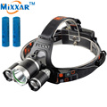 ZK35 9000LM Lumen LED Lighting Head Lamp T6 Headlight Fishing Hunting Camping Light XML T6 Power bank Rechargeable 18650 Battery