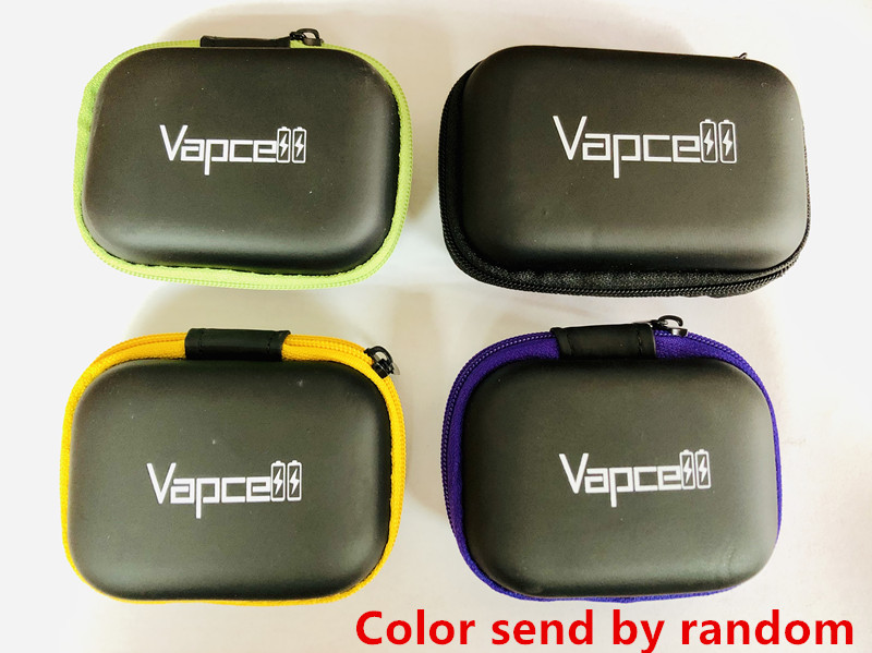 original GOLISI VAPCELL KEEPPOWER battery storage box batteries case battery case 18650 21700 20700 18350 16340 14500 zip bag