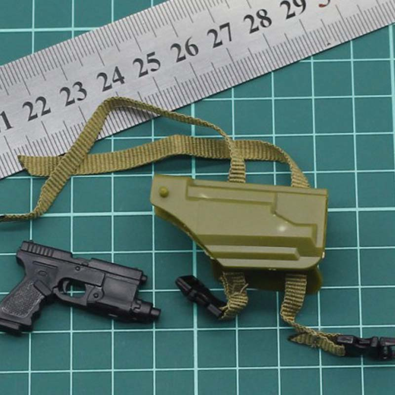 """1:6 SCALA 12/"""" Action Figure accessorio in plastica nero BALESTRA FRECCIA Modello Giocattolo"""