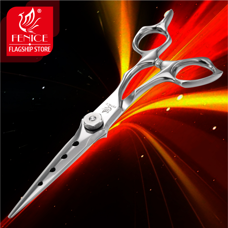 Fenice Professional Hair Cutting Scissors VG10 Stainless Steel Shears Salon Supplies Hairdressing Barbershop Scissors