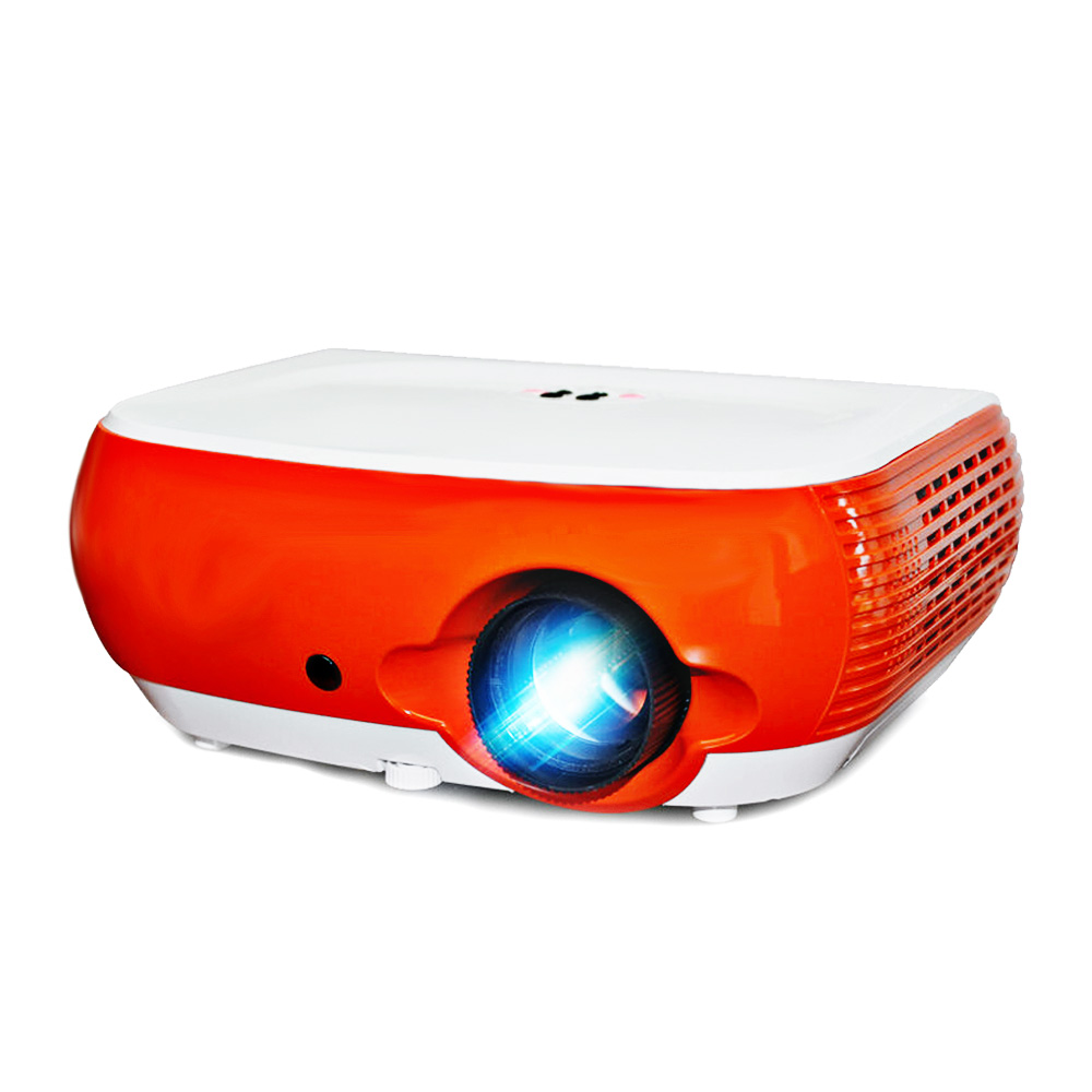 Poner Saund W1 Mini LED Projector 2500 Lumens Support Full HD 1080P HDMI LCD Video Proyector 3D Lcd Home Theater ProjetorPoner Saund W1 Mini LED Projector 2500 Lumens Support Full HD 1080P HDMI LCD Video Proyector 3D Lcd Home Theater Projetor