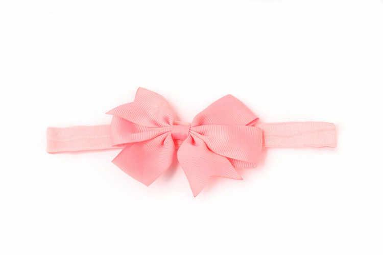 新生児 Headwrap Baby Girl ヘッドバンド幼児ヘアアクセサリー布ネクタイ弓帽子ギフト幼児包帯リボン