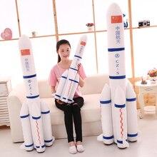 Candice guo, плюшевая игрушка, Китай, авиакосмическое пространство, летная пусковая установка, модель ракеты, CN-5, подушка для отдыха, детский подарок, 1 шт