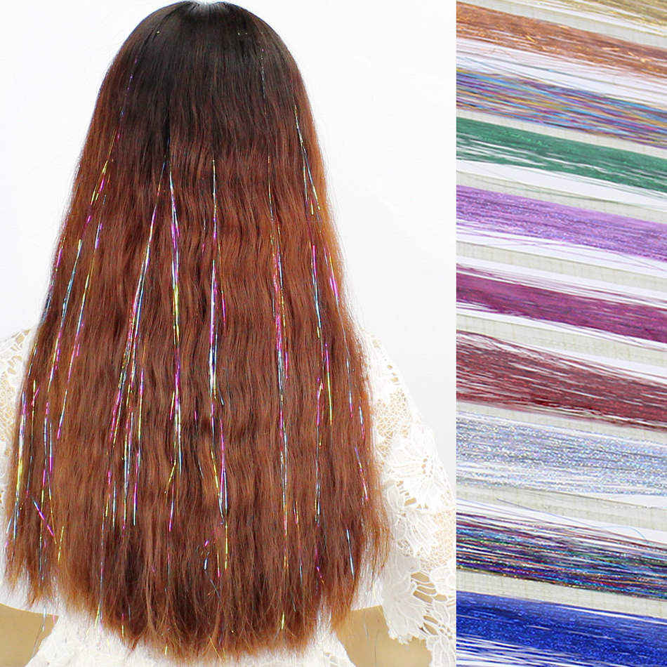 Then Mark Thread Colour Gold Wire Connect Golden Hair Wig Piece