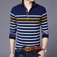 England Style New 2018 Summer Mens Fashion Turn Down Collar Striped Cotton Polo Shirts Tops Male Oversize Tees Psg Regata Paten(China)