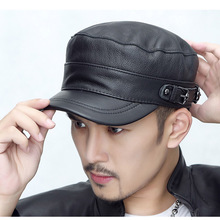 219835c909 Buy cadet leather cap and get free shipping on AliExpress.com