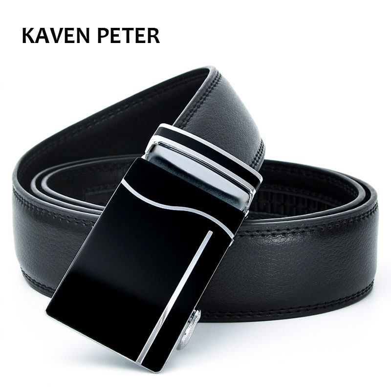 Belt 2016 Hot Sales Newest Men Automatic Buckle Brand New Fashion  Leather Belts For Business Men High Quality Luxury For Man