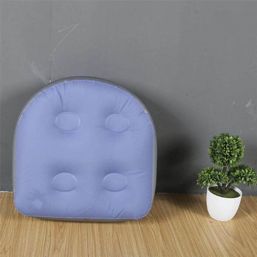 Siège d'appoint multifonctionnel de Spa avec la poignée de ventouse coussin de Spas de bain à remous gonflable idéal pour des adultes ou des enfants