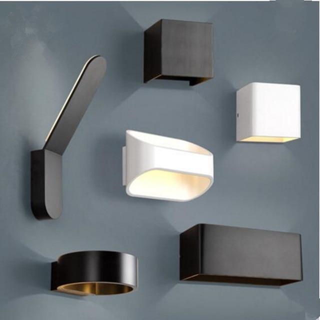 moderne mode wandlamp binnenverlichting led verlichting alle aluminium slaapkamer woonkamer eetkamer barshop wanddecoratie led