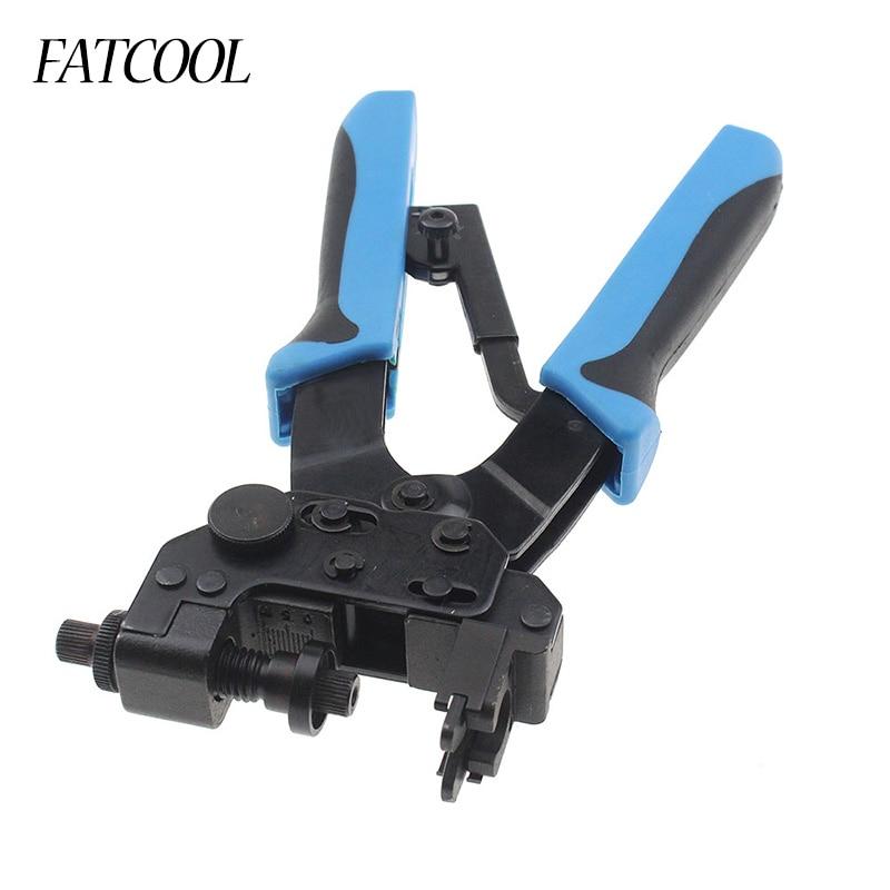FATCOOL Professional Compression Crimping Tools For Crimping F, Bnc, Rca, Rg 59, Rg6 F Type Cable Pliers 0.5-6mm2 разъём bnc под f