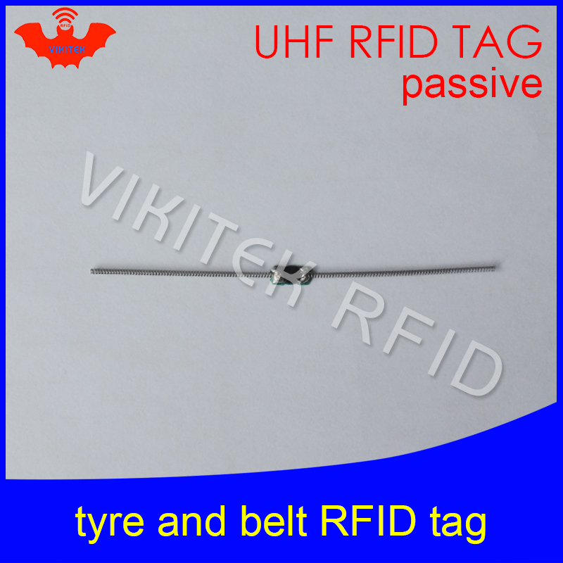 UHF RFID tyre tag EPC Gen2 ISO18000-6C 915mhz 900mhz 868mhz 860-960MHZ 90*4mm Alien Higgs3 passive RFID belt tag prorab epc 4