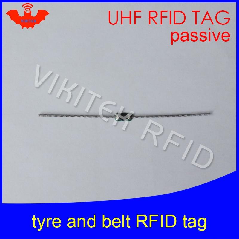 UHF RFID Tyre Tag EPC Gen2 ISO18000-6C 915mhz 900mhz 868mhz 860-960MHZ 90*4mm Alien Higgs3 Passive RFID Belt Tag
