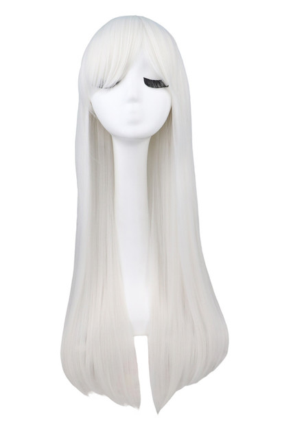 Super Long Straight Cosplay Synthetic Hair Wig