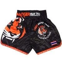 MMA tigre Muay Thai boxe boxe match Sanda entraînement respirant shorts muay thai vêtements boxe tigre Muay Thai mma