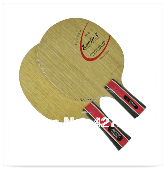 Original Galaxy Yinhe earth E-3 table tennis blade pure wood fast attack with loop table tennis rackets racquet sports