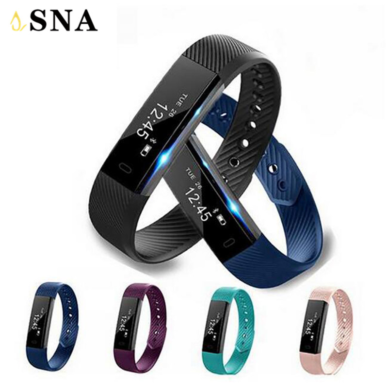 Fitness Bracelet Pedometre Smartwatch Pedometer Smart Watch Smart Bracelet Vibrating Alarm Clock Fitness Watches PK fitbits