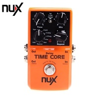 NUX Time Core Guitar Effect Pedal 7 Delay Models Guitarra Effect Pedal True Bypass High Quality