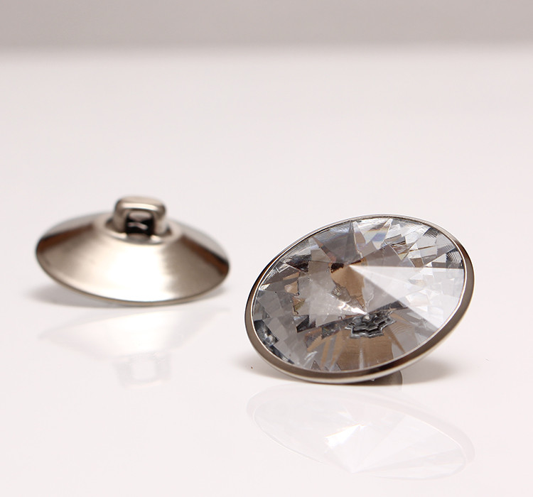 (20000 Stks/partij) 22 Mm Clear Sofa Acryl Crystal Knoppen Accessoires