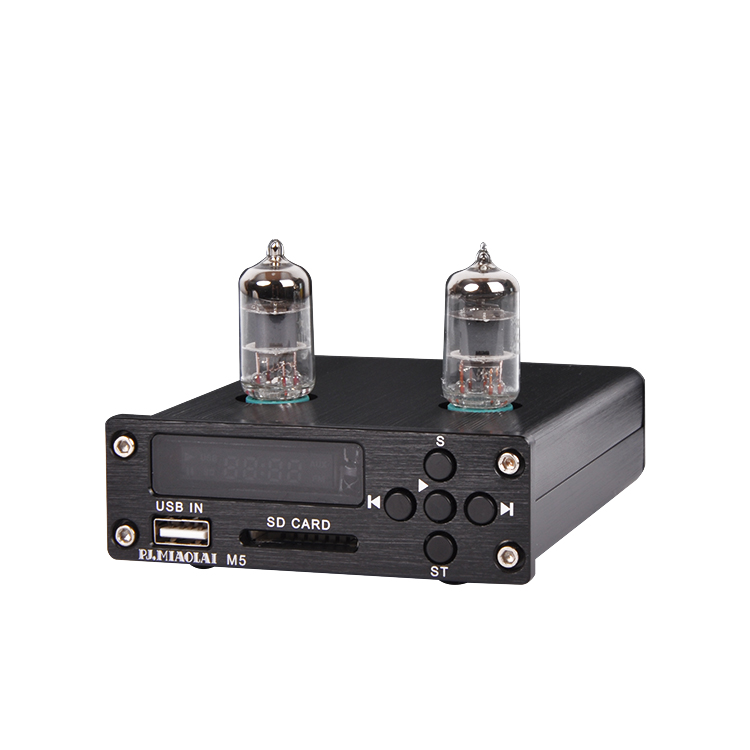 M5 USB SD APE FLAC Lossless music player 6J1 tube preamplifier HIFI audio player black /silverM5 USB SD APE FLAC Lossless music player 6J1 tube preamplifier HIFI audio player black /silver