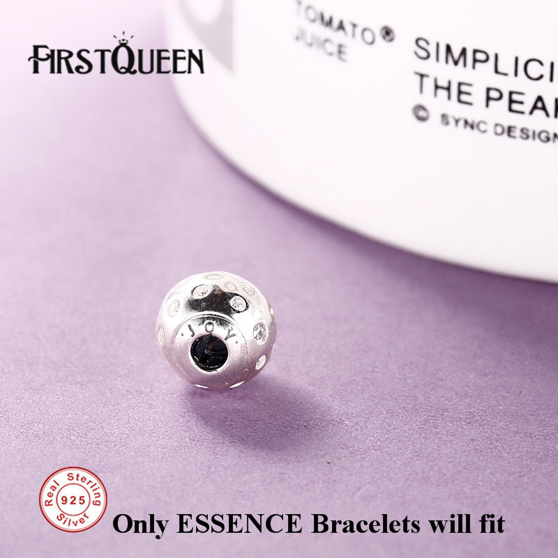 FirstQueen High Quality Joy Essence Charms Beads Fit Essence Bracelets Bangles DIY For Jewery Making Fine Jewelry