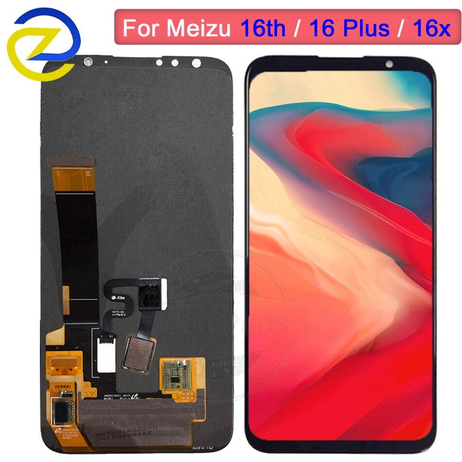 Pour Meizu 16th LCD écran tactile numériseur assemblée M882Q M8821H M872Q M872H pour Meizu 16 Plus LCD 16X remplacement d'écran