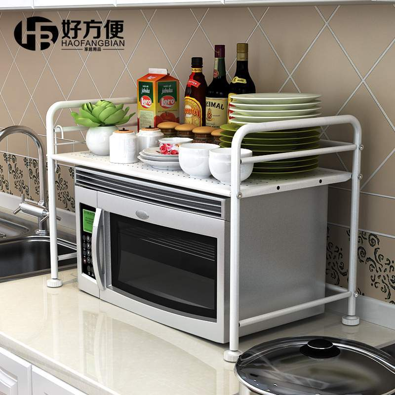 Metal Rack Microwave Shelf Oven Stand Kitchen Storage E Accessories In Holders Racks From Home Garden On Aliexpress