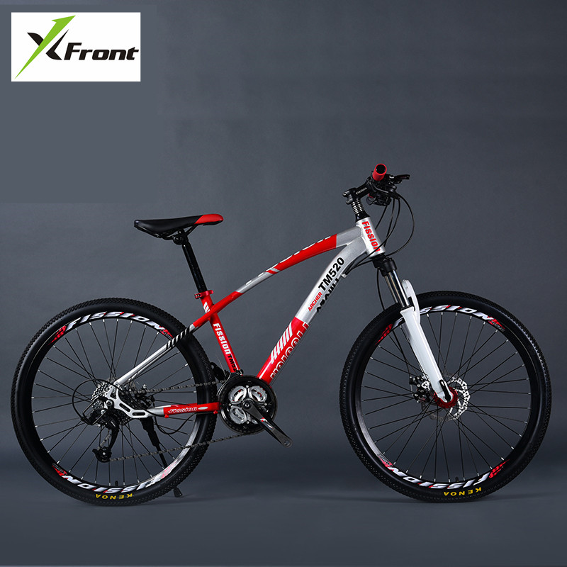 New Brand Mountain Bike Carbon Steel Frame 24/27/30 Speed 24/26 inch Wheel Damping MTB Bicycle Outdoor Sports Bicicleta image