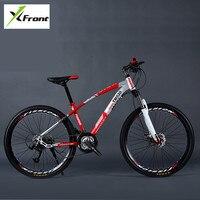 New Brand Mountain Bike Carbon Steel Frame 24 27 30 Speed 24 26 Inch Wheel Damping