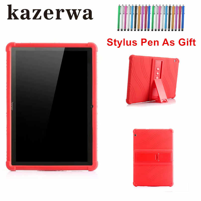 "Child Tablet Silicon Stand case For Huawei MediaPad T3 10 AGS-W09 AGS-L09 AGS-L03 9.6"" Funda Tablet for Honor Play Pad 2 9.6+pen"