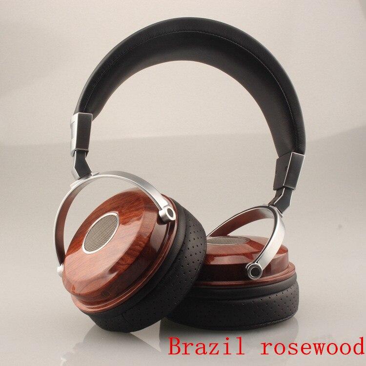 DIY Open wooden headset Wooden Headphones