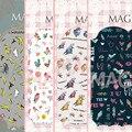 Ver detalle de AVES 5 DISEÑOS Más Nuevos 1 UNIDS MAGICO erie 3d nail art stickers nail art decal nail art stampingwholesale
