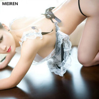 Freight Free Sexy Lingerie Sexy Underwear Lovely Female Maid Lace Sexy Miniskirt Maid Outfit Sexy Costume