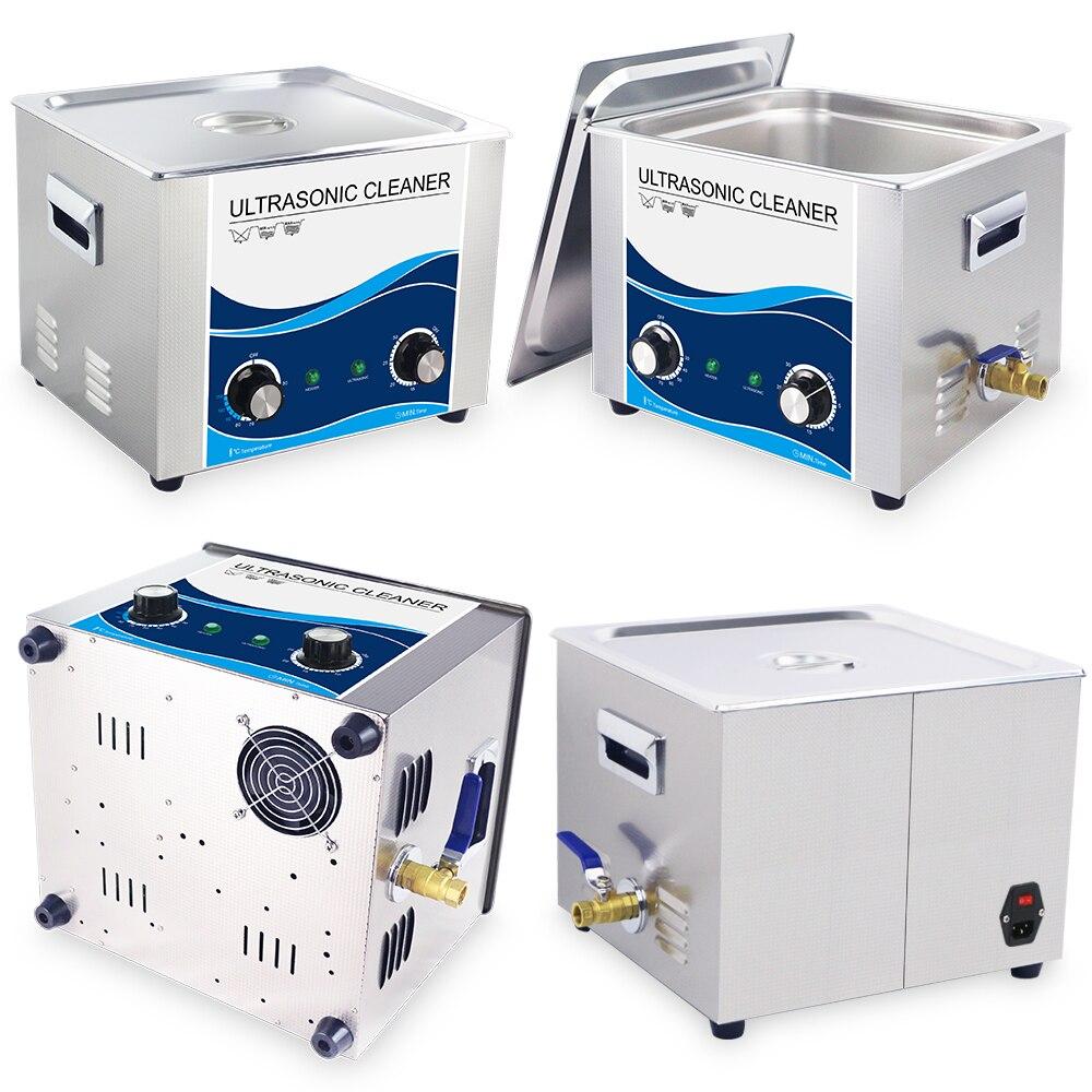 Skymen 3,2 30L Цифровой Ультра звуковой очиститель для ванны ультразвуковой очиститель металлических деталей PCB двигателя резаки Carb sonic Чистящая ... - 5