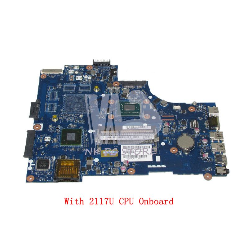 NOKOTION VAW00 LA-9104P CN-03H0VW 03H0VW 3H0VW MAIN BOARD For dell inspiron 15 3521 5521 Laptop Motherboard SR105 2127U CPU nokotion brand new qcl00 la 8241p cn 06d5dg 06d5dg 6d5dg for dell inspiron 15r 5520 laptop motherboard hd7670m 1gb graphics