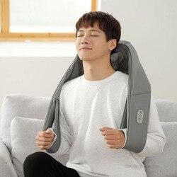 Xiaomi Mijia LF 3D masażer ugniatający na szyję w kształcie litery U masaż elektryczny regulowana siła TC z podgrzewaną wodą wyrabiania masaż 4