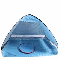 Ship From US Outdoor Sun Shade Camping Tent Hiking Beach Tent UV Protection Fully Automatic Waterproof Portable Pop Up Beach Te