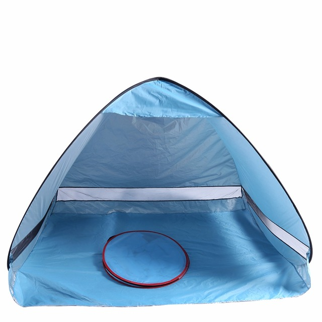 Ship From US Outdoor Sun Shade C&ing Tent Hiking Beach Tent UV Protection Fully Automatic Waterproof  sc 1 st  AliExpress.com & Ship From US Outdoor Sun Shade Camping Tent Hiking Beach Tent UV ...