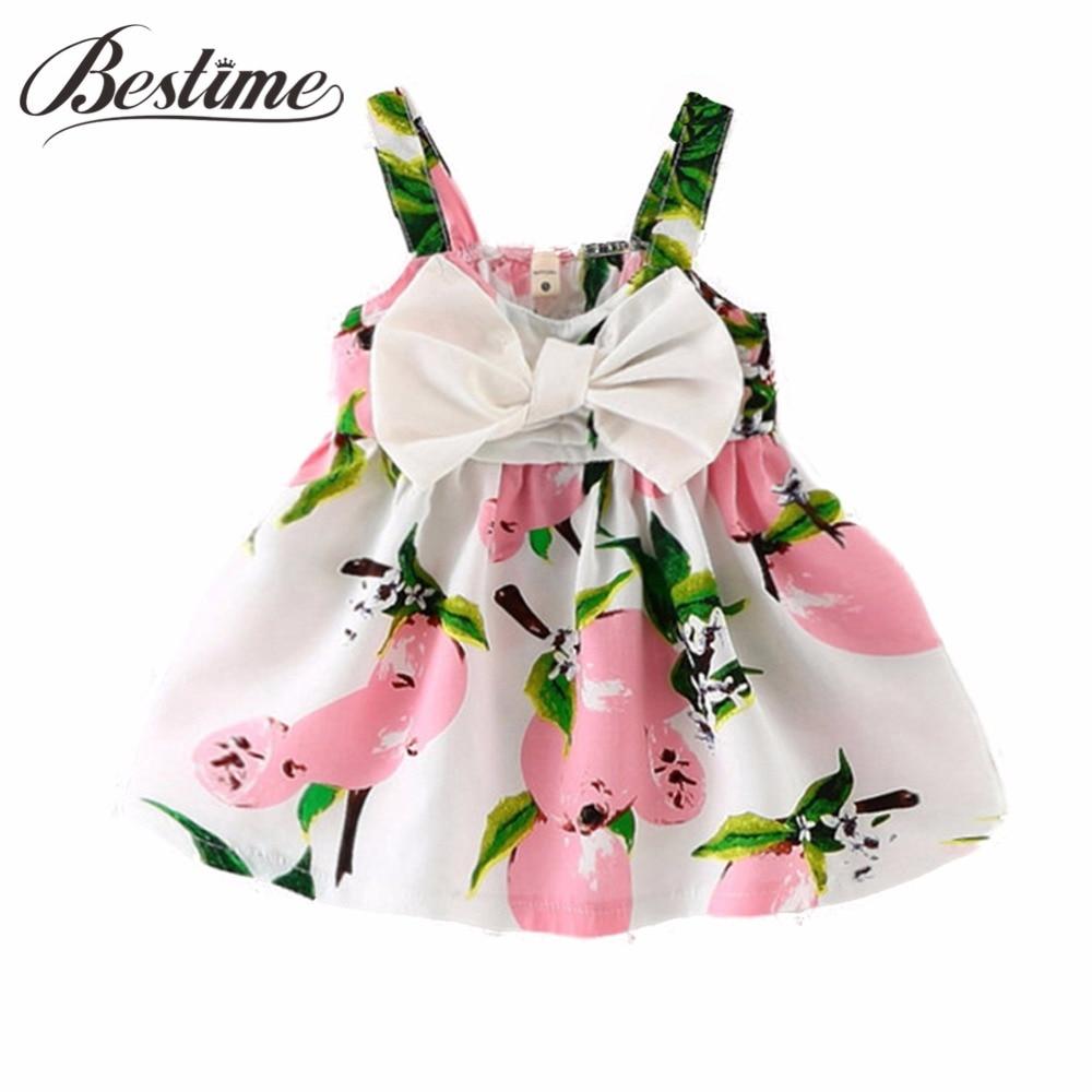 Baby Dresses Page 9 Of 10 Kid Shop Global Kids Dress Tutu Flower Pink 0 2th 24months Summer Lemon Print Infant Cotton Sleeveless Princess Birthday For