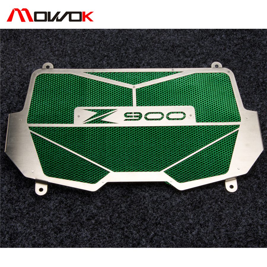 Newest Green Black Motorcycle Radiator Grille Guard Cover Protector For Kawasaki Z900 2017 Z 900