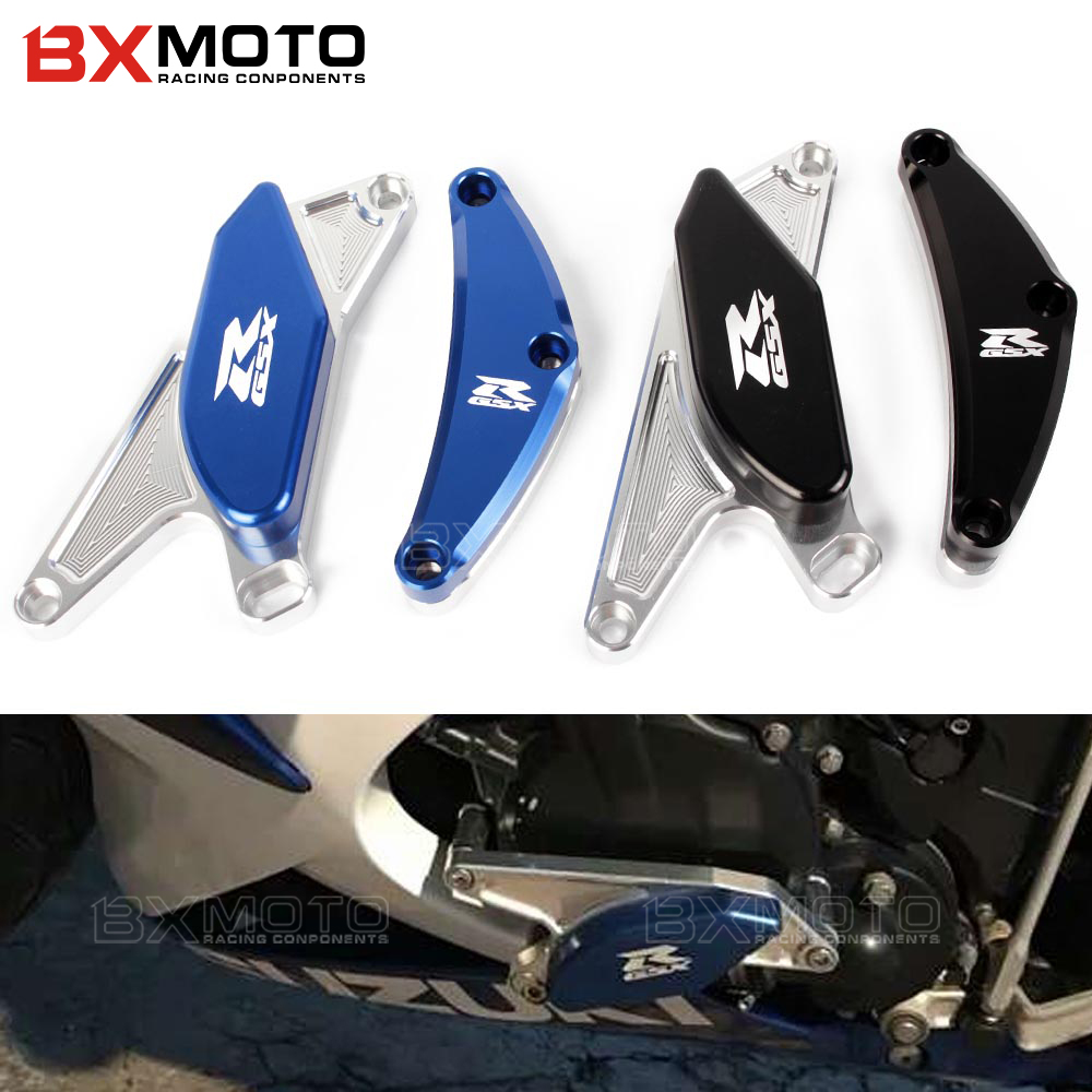 цены New Motorcycle CNC Engine Guard Frame Sliders Crash Protector For Suzuki GSXR 600 750 GSXR600 GSXR750 GSX R 600 2006 2007-2012