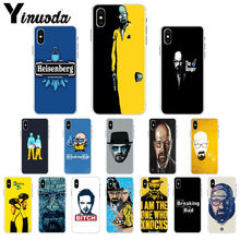 Yinuoda Breaking Bad Head Portrait DIY Painted Phone Accessories Case for iPhone X XS MAX 6 6s 7 7plus 8 8Plus 5 5S SE XR(China)